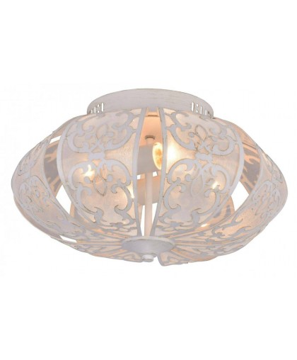 Потолочная люстра Arte Lamp A5116PL-4WG белый/золото, диаметр 42 см