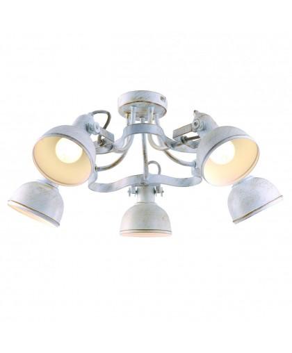 Спот Arte lamp Martin A5216PL-5WG золотой, белый