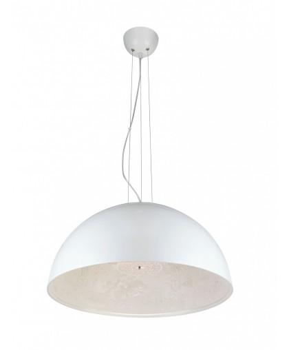 Светильник подвесной ArteLamp Rome A4176SP-1WH белый, диаметр 57 см