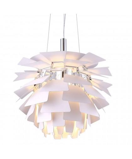 Подвесной светильник Arte Lamp Botticelli A8008SP-1WH, диаметр 48 см, белый