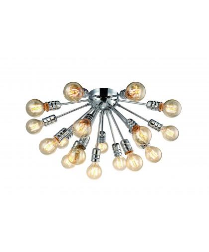 Люстра потолочная Arte Lamp FUOCO A9265PL-18CC, диаметр 60 см, хром
