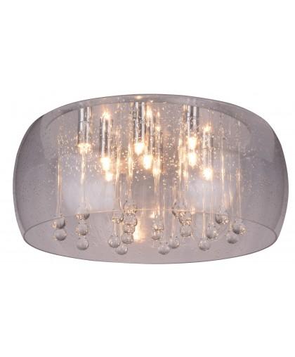 Люстра хрустальная Arte Lamp LACRIMA A8145PL-9CC, диаметр 50 см, хром