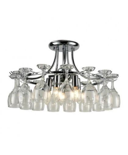 Подвесной светильник Arte Lamp A7043PL-5CC, хром, диаметр 53 см