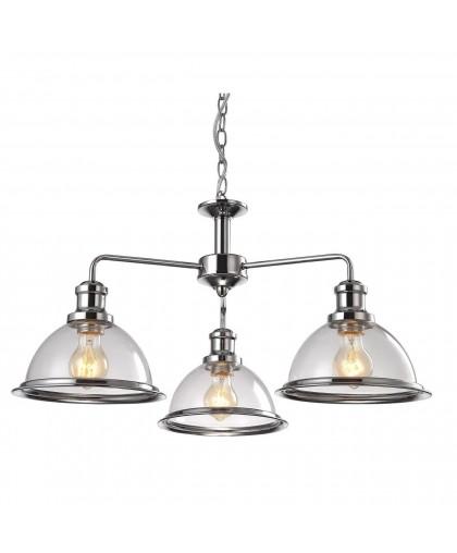 Подвесная люстра Arte Lamp Oglio A9273LM-3CC, диаметр 65 см, хром