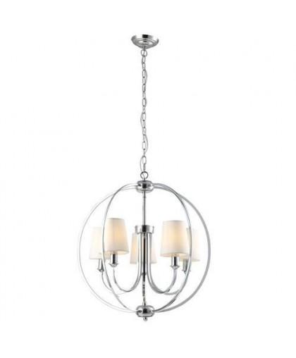Подвесной светильник Arte Lamp A9022SP-5CC хром, диаметр 60 см