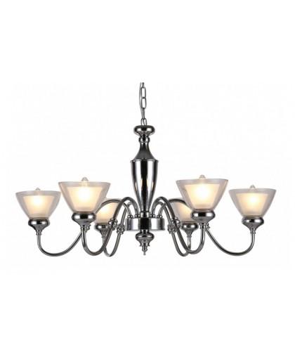 Подвесной светильник Arte Lamp A5184LM-6CC, хром, диаметр 80 см