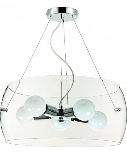 Подвесная люстра Arte Lamp FRESCURA A8057SP-5CC, диаметр 50 см, хром