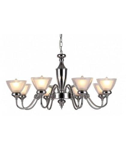 Подвесной светильник Arte Lamp A5184LM-8CC, хром, диаметр 83 см