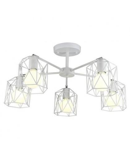 Подвесной светильник Arte Lamp A4284PL-5WH белый