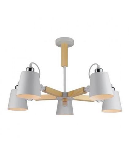 Потолочный светильник Arte Lamp A7141PL-5WH белый, диаметр 75 см