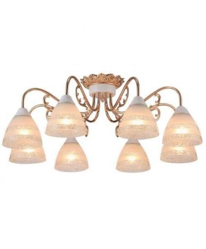 Потолочный светильник Arte Lamp A7072PL-8WG золото беленое, диаметр 75 см