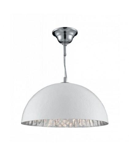 Светильник подвесной диаметр 38 см Arte Lamp A8149SP-1SI Dome хром