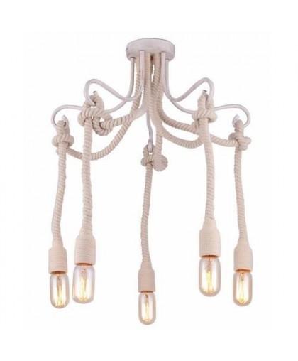 Потолочный светильник Arte LAmp A9477PL-5WG белый/золото, диаметр 57 см
