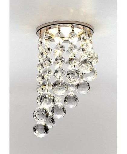 Светильник GX53 L 129 хром / прозрачное стекло