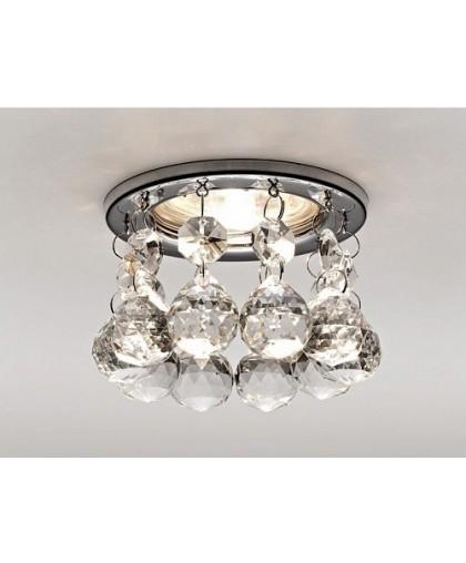 Светильник GX53 L 139 хром / прозрачное стекло