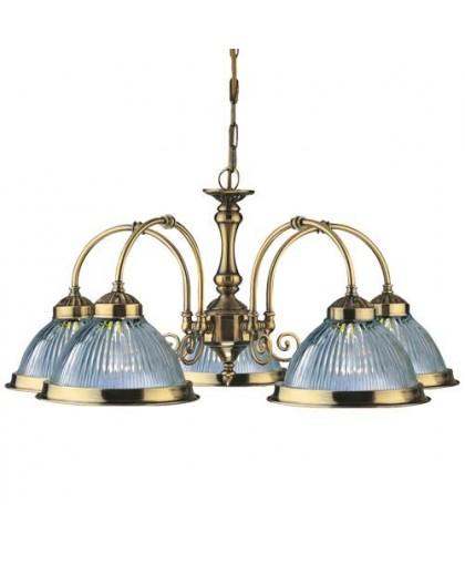 Люстра диаметр 62 см Arte Lamp A9366LM-5AB бронза