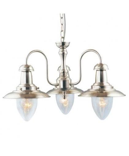 Люстра Arte Lamp A5518LM-3SS никель