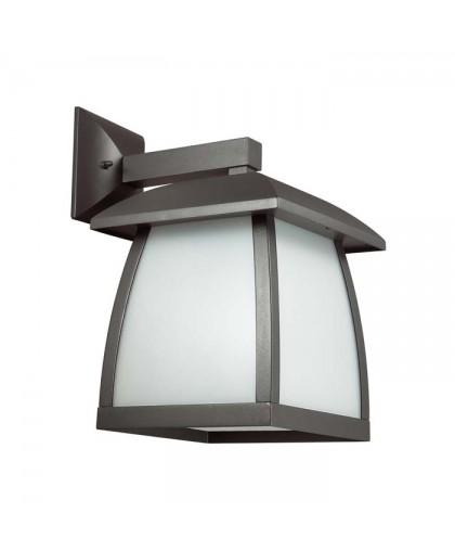 4050/1W ODL18 712 темно-серый/матовый белый Уличный настенный светильник IP44 E27 100W 220V TAKO