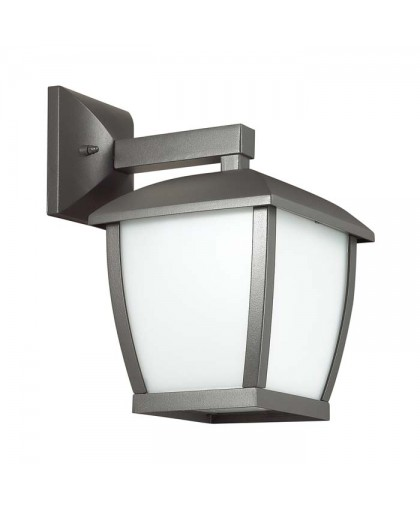 4051/1W ODL18 713 темно-серый/матовый белый Уличный настенный светильник IP44 E27 100W 220V TAKO