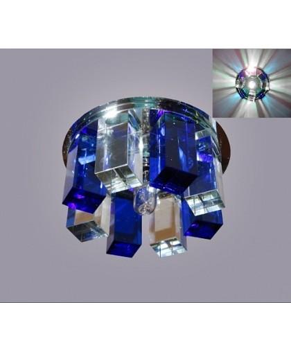 СВЕТИЛЬНИК декоративный L-40 синий