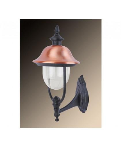 Уличный настенный светильник Arte Lamp Barcelona A1481AL-1BK