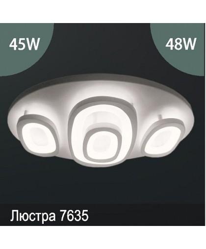 Люстра LED арт: 7635 45W