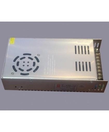 Блок питания для LED ленты IP20 360W, 12V/220V с вентилятором