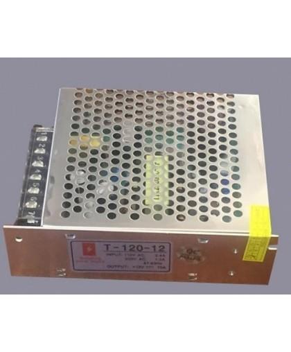 Блок питания для LED ленты IP20 120W, 12V/220V
